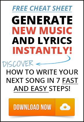 FREE SONGWRITING CHEAT SHEET